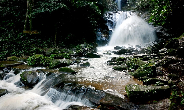 Pu Muen waterfall